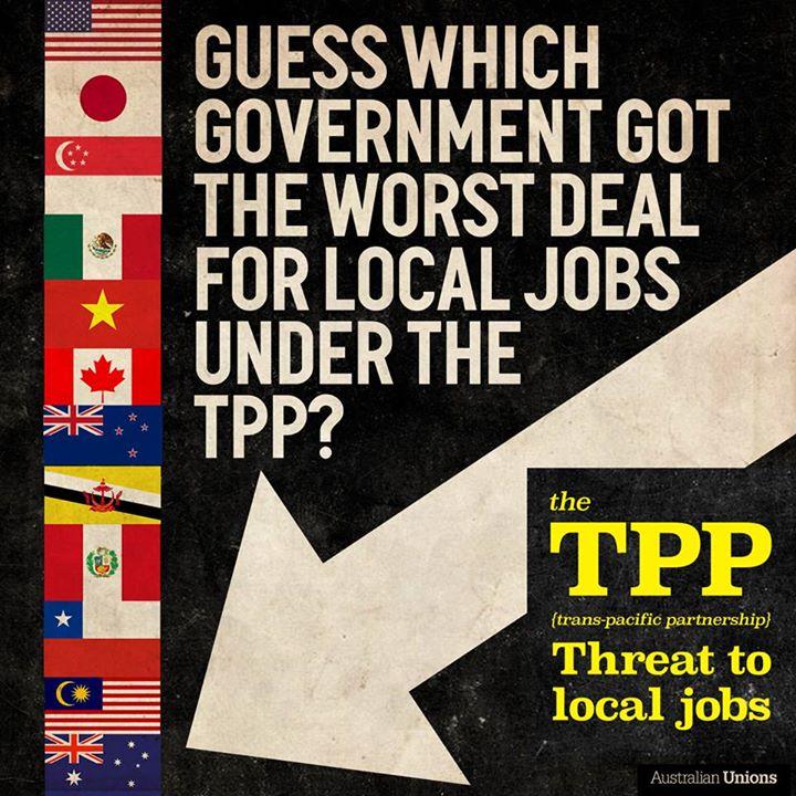 Community Coalition Urges Senate Inquiry Into Tpp