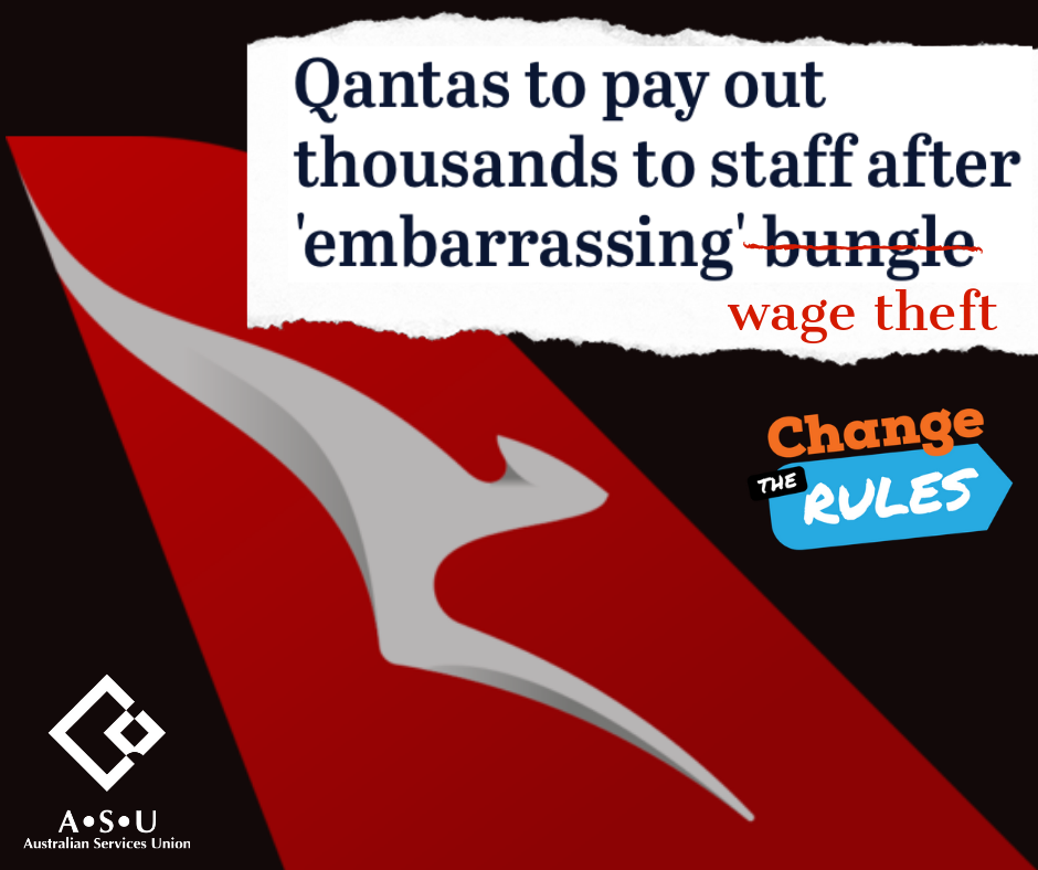 Qantas wage theft